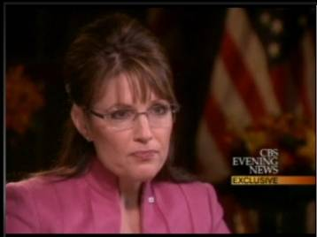 Sarah palins katie couric interview