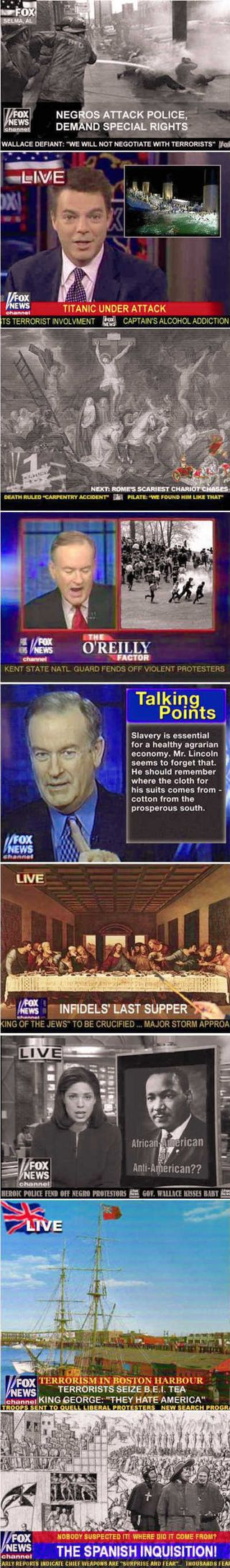 Fox news history cr