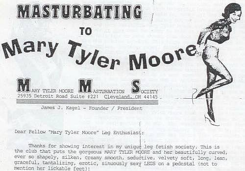 Masturbating to mary tyler moore